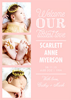All Baby Announcements